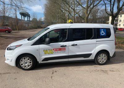 Ford Transit Connect als Rollstuhlfahrzeug